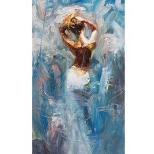 A nő – VIDEÓS festés