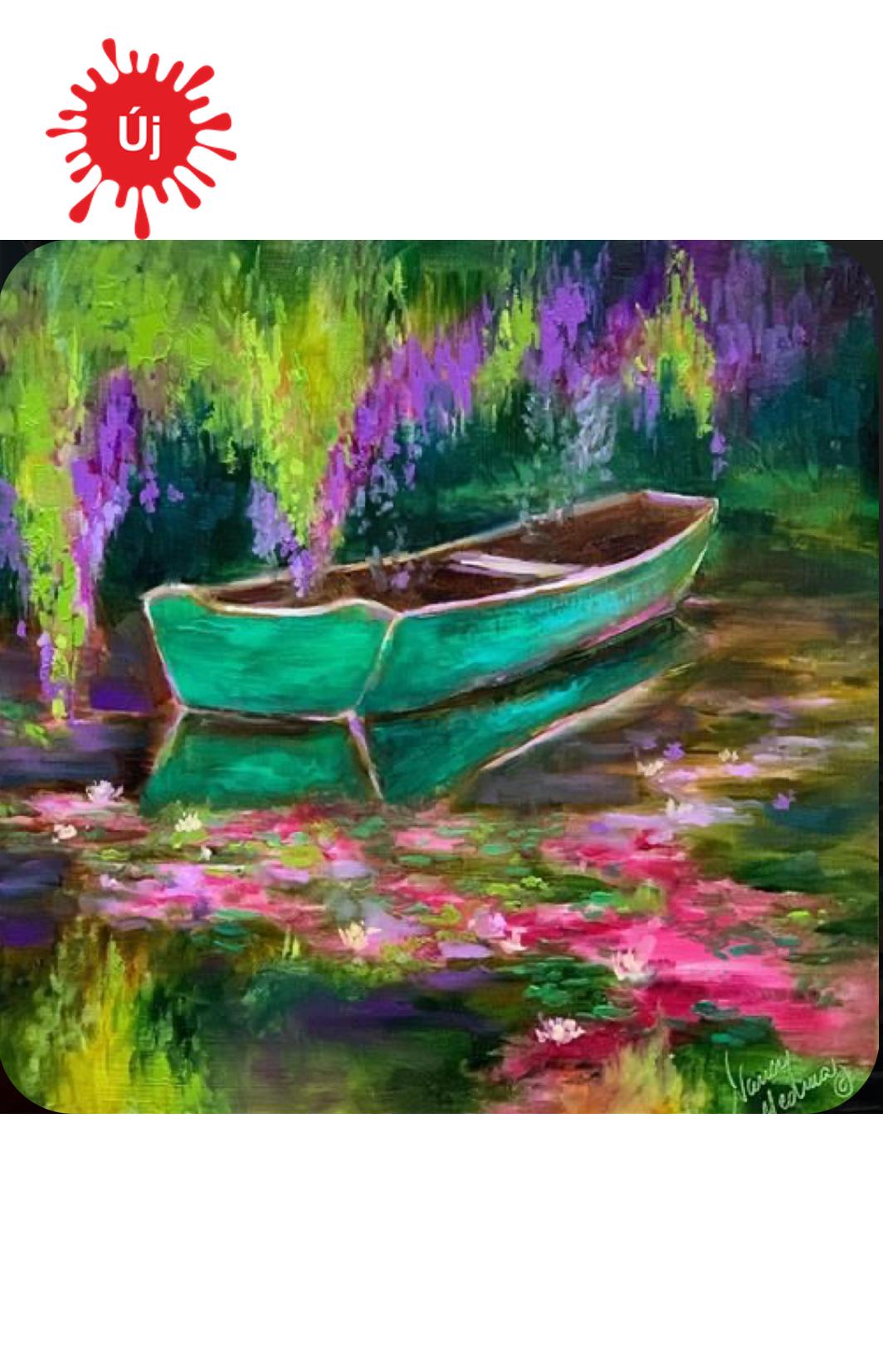Csónak a fa alatt - YourArt - Otthoni élményfestő szett