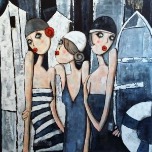 Virginie Matz: A fürdőző gráciák
